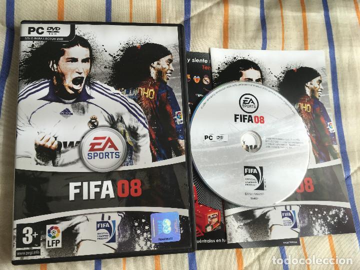 FIFA 08 PC DVD ROM EA SPORTS KREATEN LFP (Juguetes - Videojuegos y Consolas - PC)