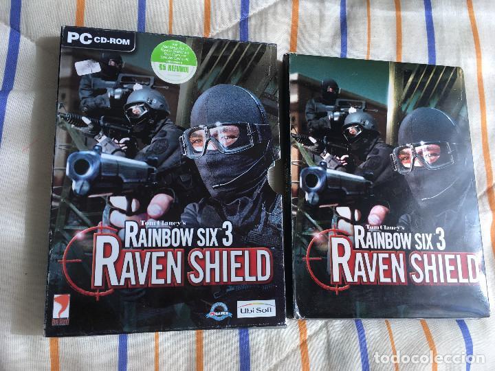 TOM CLANCY'S RAINBOW SIX 3 RAVEN SHIELD PC CD ROM KREATEN (Juguetes - Videojuegos y Consolas - PC)