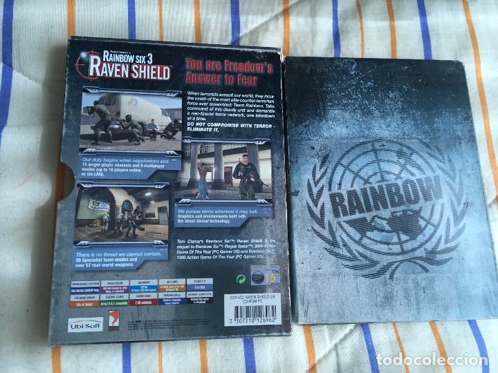 Videojuegos y Consolas: TOM CLANCY'S RAINBOW SIX 3 RAVEN SHIELD pc cd rom Kreaten - Foto 2 - 164618638