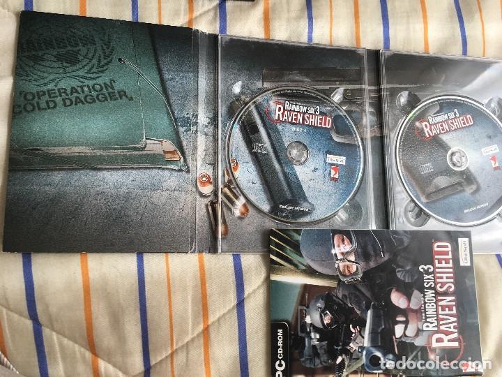 Videojuegos y Consolas: TOM CLANCY'S RAINBOW SIX 3 RAVEN SHIELD pc cd rom Kreaten - Foto 4 - 164618638