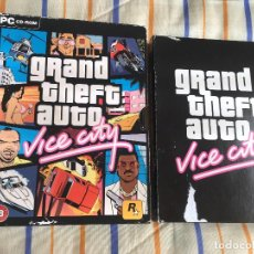 Videojuegos y Consolas: GRAND THEFT AUTO VICE CITY ROCKSTAR PC CD ROM KREATEN GTA. Lote 164619086