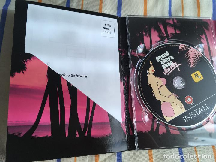 Videojuegos y Consolas: GRAND THEFT AUTO VICE CITY ROCKSTAR PC CD ROM KREATEN gta - Foto 4 - 164619086