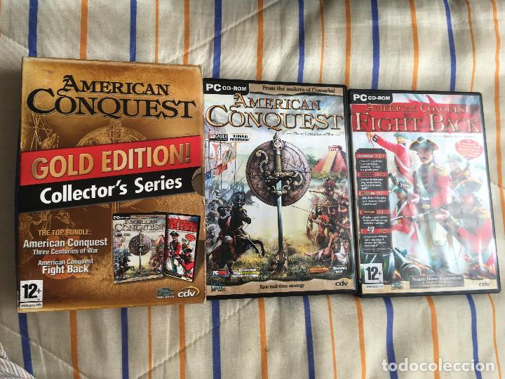 AMERICAN CONQUEST GOLD EDITION COLLECTOR'S SERIES 2 GAMES PC KREATEN (Juguetes - Videojuegos y Consolas - PC)
