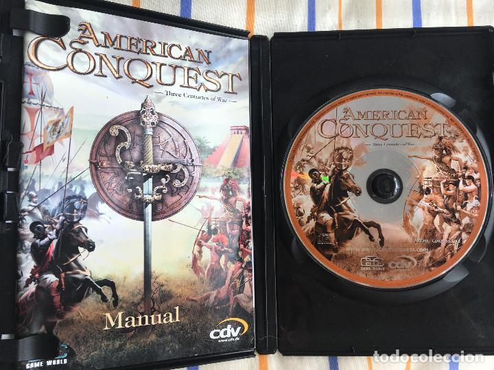 Videojuegos y Consolas: AMERICAN CONQUEST GOLD EDITION COLLECTOR'S SERIES 2 GAMES PC KREATEN - Foto 3 - 164619546