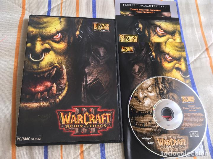 WARCRAFT III REIGN OF CHAOS 3 PC CD ROM KREATEN MAC (Juguetes - Videojuegos y Consolas - PC)