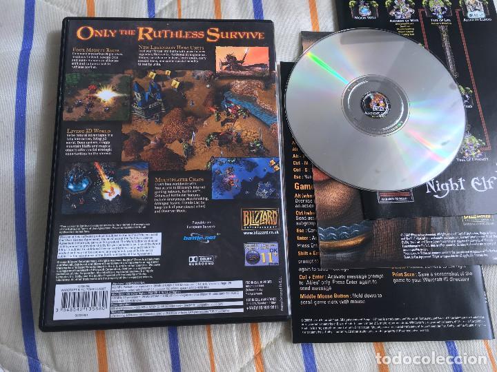 Videojuegos y Consolas: WARCRAFT III REIGN OF CHAOS 3 pc cd rom kreaten mac - Foto 2 - 164619802