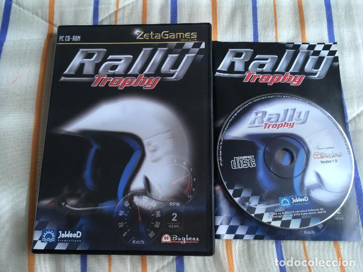 RALLY TROPHY PC CD ROM ZETAGAMES BUGBEAR JOWOOD KREATEN (Juguetes - Videojuegos y Consolas - PC)