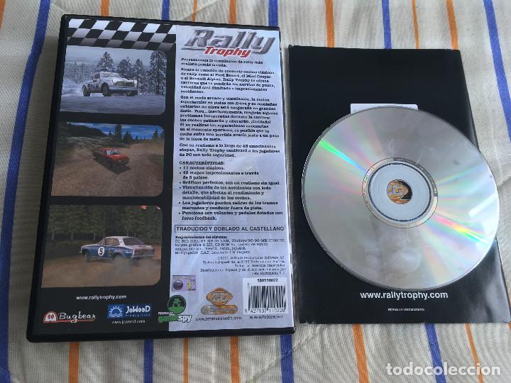 Videojuegos y Consolas: RALLY TROPHY PC CD ROM ZETAGAMES BUGBEAR jowood KREATEN - Foto 2 - 164620094