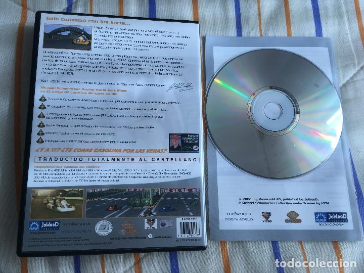 Videojuegos y Consolas: MICHAEL SCHUMACHER RACING WORLD KART 2002 PC CD ROM zeta games kreaten - Foto 2 - 164620466