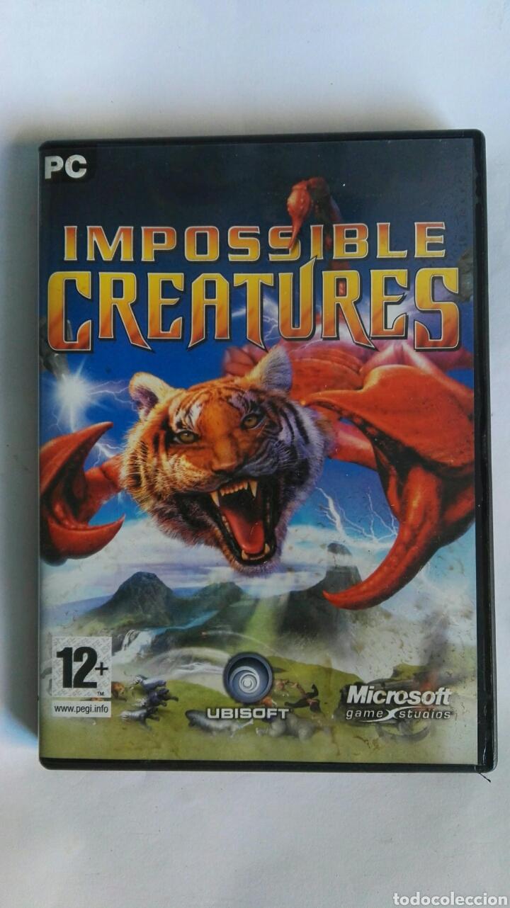 IMPOSSIBLE CREATURES PC (Juguetes - Videojuegos y Consolas - PC)