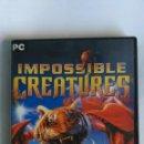 Videojuegos y Consolas: IMPOSSIBLE CREATURES PC. Lote 164624626