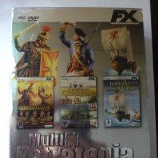 Videojuegos y Consolas: MULTI ESTRATEGIA. DELUXE 3 DVDS. PC. PATRICIAN III. IMPERIUM III. AMERICAN CONQUEST. . Lote 165194842