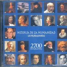Videojuegos y Consolas: HISTORIA DE LA HUMANIDAD: LOS PROTAGONISTAS. Lote 165221230