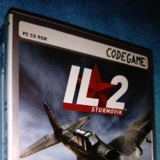 Videojuegos y Consolas: JUEGO PC CD ROM IL2 STURMOVIK PC EDICION ESPAÑOLA COMPLETO. Lote 165268446