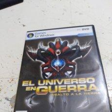 Videojuegos y Consolas: JUEGO PC DVD EL UNIVERSO EN GUERRA ASALTO A LA TIERRA . Lote 165369530