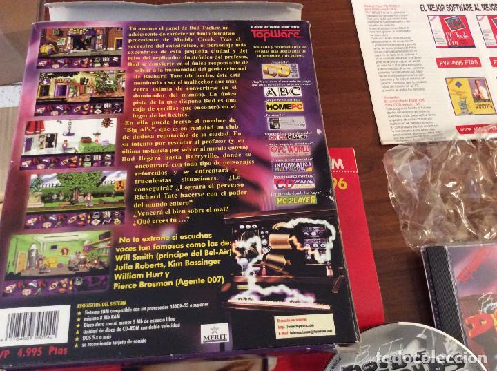 Videojuegos y Consolas: BUD TUCKER IN DOUBLE TROUBLE - CAJA GRANDE CARTON - TOTALMENTE EN CASTELLANO - PC - Foto 3 - 165752174