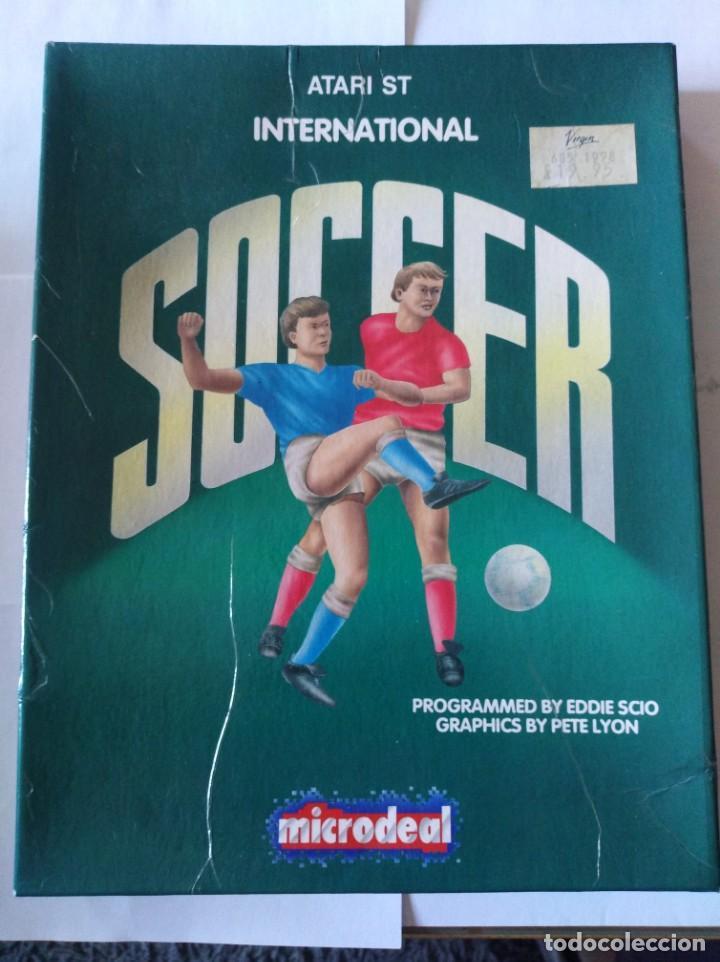 JUEGO PC DISQUETE SOCCER ATARI ST 1987 (Juguetes - Videojuegos y Consolas - PC)