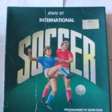 Videojuegos y Consolas: JUEGO PC DISQUETE SOCCER ATARI ST 1987. Lote 166137170