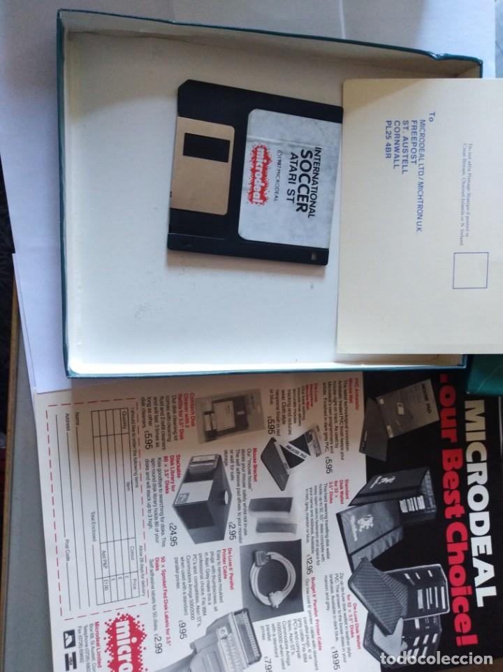 Videojuegos y Consolas: Juego pc disquete soccer Atari st 1987 - Foto 3 - 166137170
