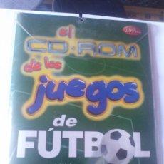 Videojuegos y Consolas: JUEGO PC DISQUETE Y CD ROM JUEGOS DE FUTBOL. Lote 166139086