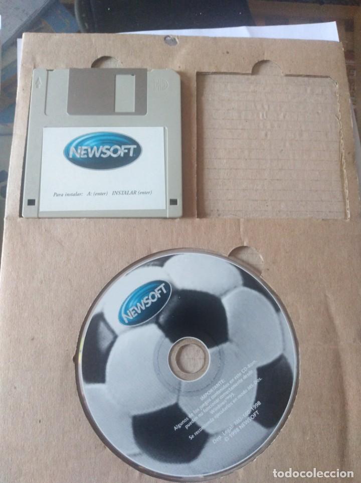 Videojuegos y Consolas: Juego pc disquete y CD rom juegos de futbol - Foto 5 - 166139086