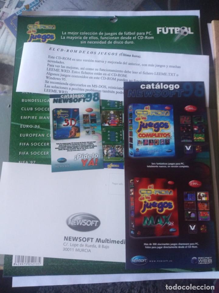Videojuegos y Consolas: Juego pc disquete y CD rom juegos de futbol - Foto 6 - 166139086