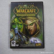 Videojuegos y Consolas: WORLD OF WARCRAFT BURNING CRUSADE EXPANSION - CD-ROM. Lote 166439530