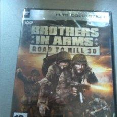 Videojuegos y Consolas: BROTHERS IN ARMS - ROAD TO HILL 30 VERSION FRANCESA - NUEVO PRECINTADO. Lote 166914760