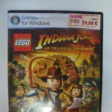 Videojuegos y Consolas: LEGO. INDIANA JONES. LA TRILOGÍA ORIGINAL. GAMES FOR WINDOWS. CON INSTRUCCIONES. . Lote 167123744