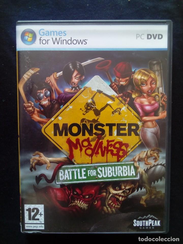 JUEGO PC MONSTER MADNESS BATTLE FOR SUBURBIA (Juguetes - Videojuegos y Consolas - PC)
