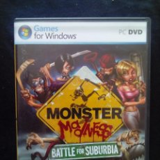 Videojuegos y Consolas: JUEGO PC MONSTER MADNESS BATTLE FOR SUBURBIA. Lote 167251980