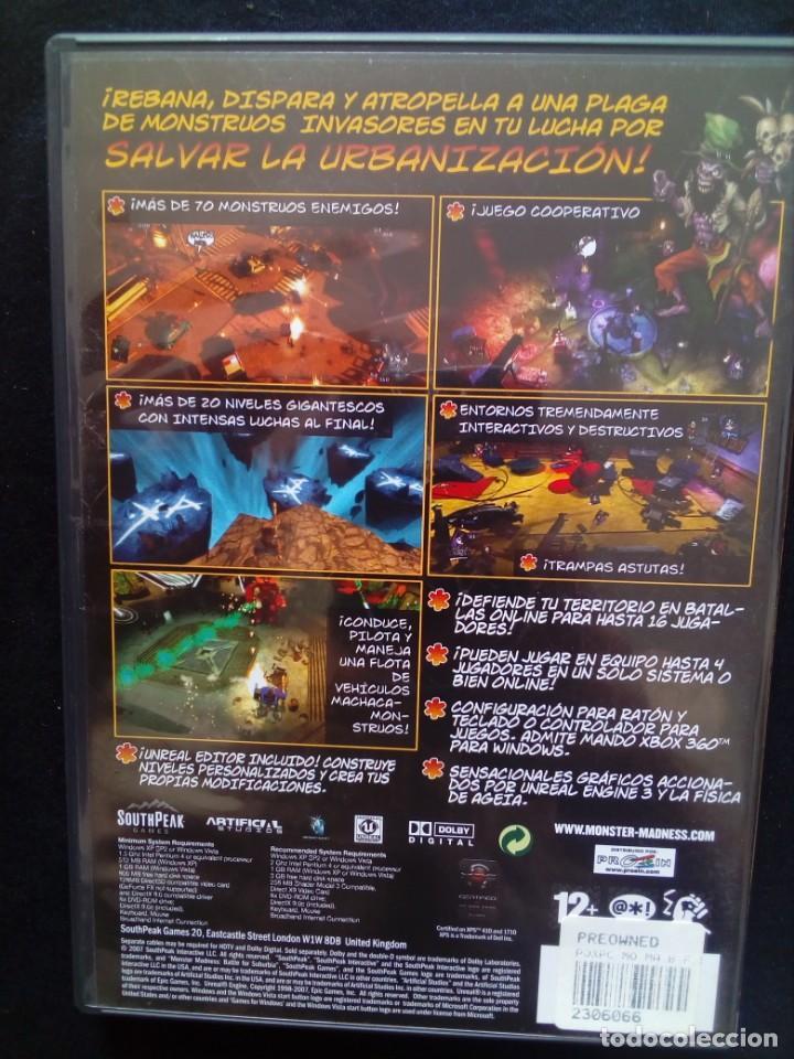 Videojuegos y Consolas: Juego Pc Monster Madness Battle for Suburbia - Foto 2 - 167251980