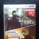 Videojuegos y Consolas: JUEGO PC SPLINTER CELL. Lote 167261168