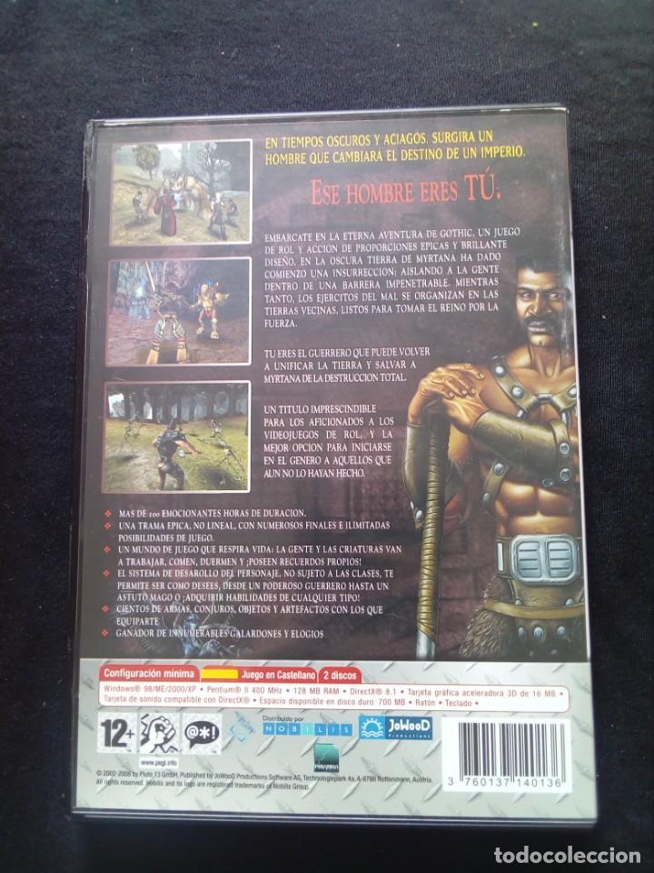 Videojuegos y Consolas: Juego Pc Gothic - Foto 2 - 167263004