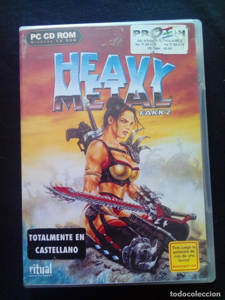 JUEGO PC HEAVY METAL FAKK2 (Juguetes - Videojuegos y Consolas - PC)