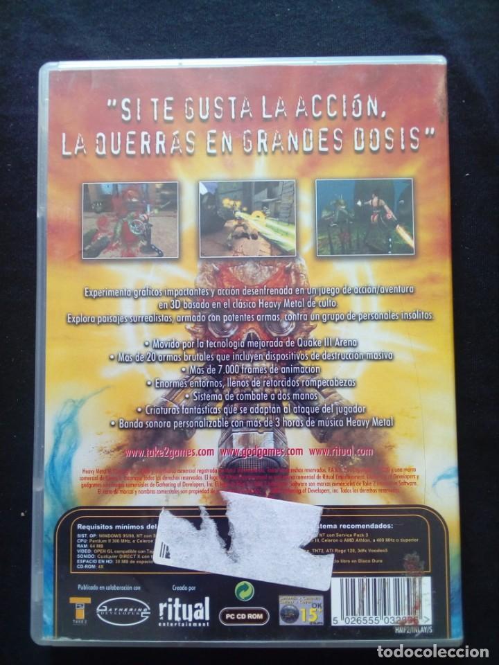Videojuegos y Consolas: Juego Pc Heavy Metal Fakk2 - Foto 2 - 167265744