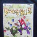 Videojuegos y Consolas: JUEGO PC BOORPS BALLS. Lote 167269556
