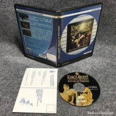 Videojuegos y Consolas: KINGS QUEST MASCARA DE ETERNIDAD PC. Lote 167695037