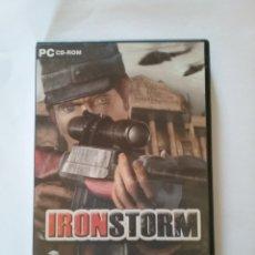Videojuegos y Consolas: IRON STROM - JUEGO PC - CD ROM.- ENVIO GRATIS. Lote 167764798