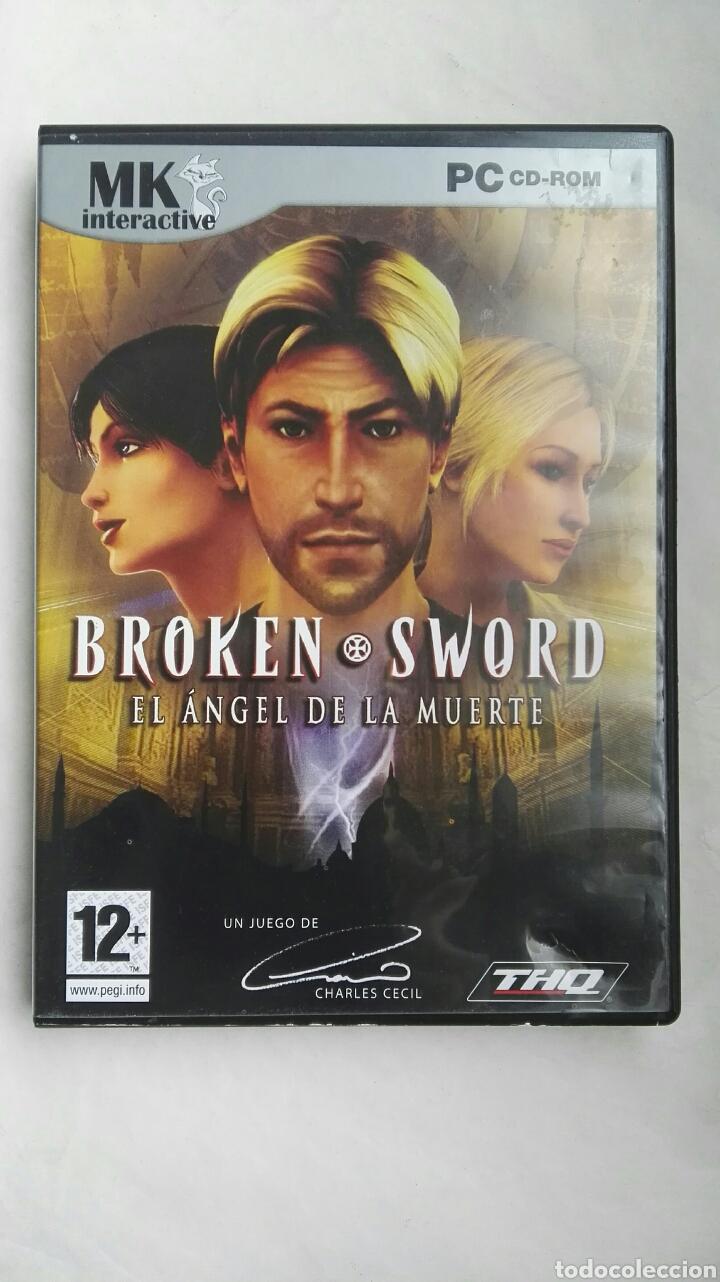 BROKEN SWORD EL ÁNGEL DE LA MUERTE PC (Juguetes - Videojuegos y Consolas - PC)