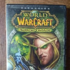 Videojuegos y Consolas: WORLD OF WARCRAFT - EXPANSION: THE BURNING CRUSADE - DVD ROM - PAL ESPAÑA -. Lote 168145808