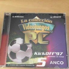 Videojuegos y Consolas: KICK OFF 97 PC. Lote 168145912