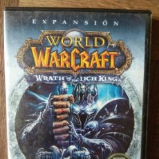 Videojuegos y Consolas: WORLD OF WARCRAFT - EXPANSION: WRATH OF THE LICH KING - DVD ROM - PAL ESPAÑA -. Lote 168146324
