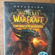 Videojuegos y Consolas: WORLD OF WARCRAFT - EXPANSION: CATACLYSM - DVD ROM - PAL ESPAÑA - INCOMPLETO. Lote 168146420