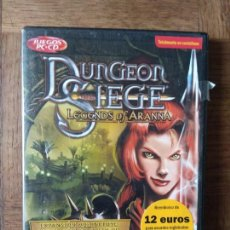 Videojuegos y Consolas: DUNGEON SIEGE, LEGENDS OF ARANNA - CD ROM - PAL ESPAÑA - INCOMPLETO. Lote 168146788