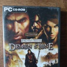 Videojuegos y Consolas: FORGOTTEN REALMS, DEMON STONE- DUNGEONS & DRAGONS - 4 CD ROM - PAL ESPAÑA -. Lote 168147284