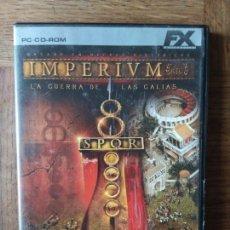 Videojuegos y Consolas: IMPERIUM, LA GUERRA DE LAS GALIAS - CD ROM - PAL ESPAÑA -. Lote 168147928