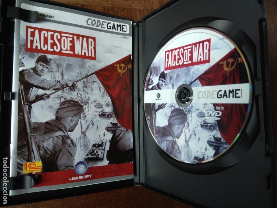 Videojuegos y Consolas: FACES OF WAR - DVD ROM - PAL ESPAÑA - - Foto 2 - 168148640