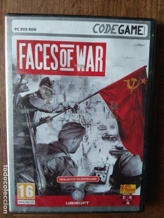 FACES OF WAR - DVD ROM - PAL ESPAÑA - (Juguetes - Videojuegos y Consolas - PC)