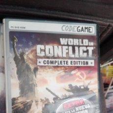 Videojuegos y Consolas: WORLD IN CONFLICT, COMPLETE EDITION - DVD ROM - PAL ESPAÑA -. Lote 168289292